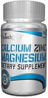 Витамины BioTechCalcium Zinc Magnesium 100 таб