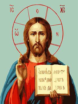 Картина по номерам Икона 30 х 40 см (BK-EX5793)