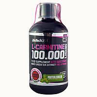 Жиросжигатель BioTech L-Carnitine 100 000 (500мл) вишня