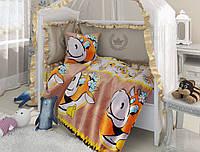 Дитяча постільна білизна в ліжечко  Ласуня