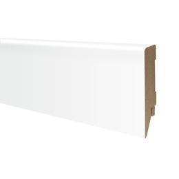 Плинтус МДФ белый матовый 100х19 мм, шт, фото 2