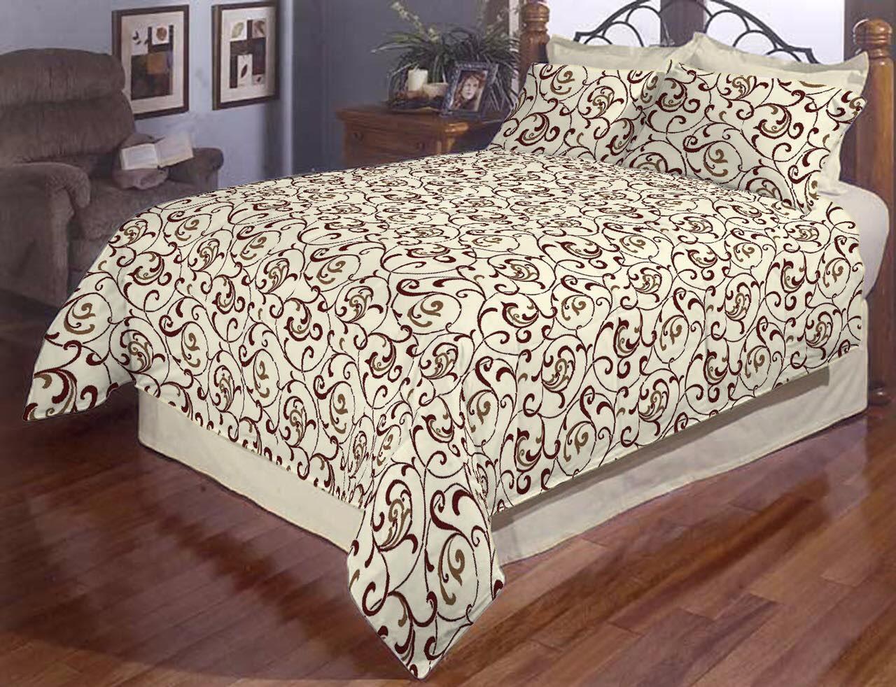 Двоспальний постільний комплект - Вензель класичний