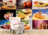 Глянцевые фотообои для кухни  разные текстуры , индивидуальный размер, фото 2