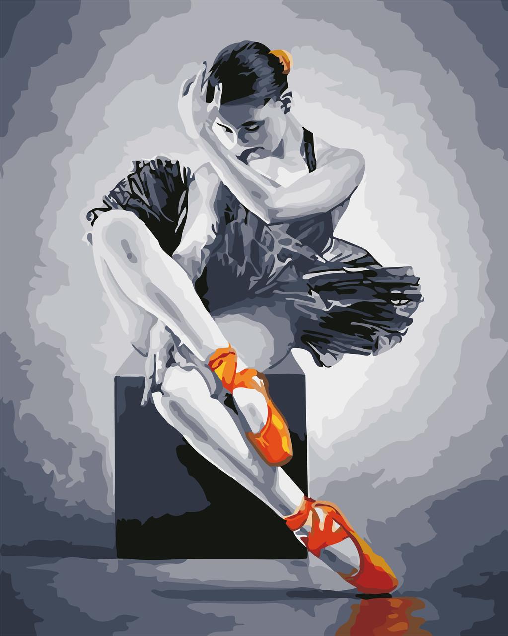 Картина по номерам Балерина 40 х 50 см (AS0566)