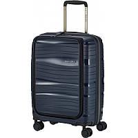 "Валіза Travelite Motion на 4 колесах S з кишенею д/ноутбука 15,6"" Сін. (43л,2,5 кг) (39х55х23см)"