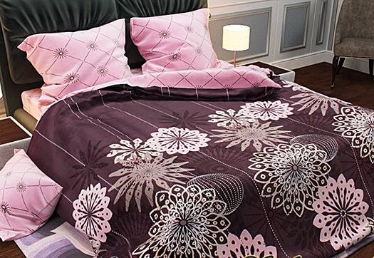 Півтораспальний комплект - Рожеві сни малинові