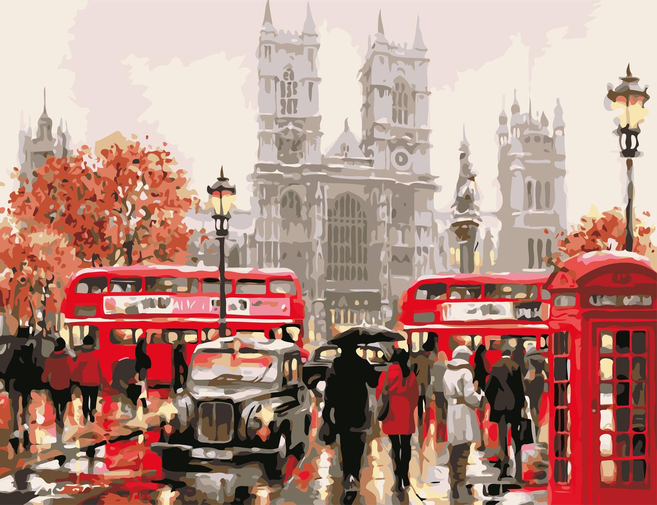 Картина за номерами Чарівність Лондона 50 х 65 см (AS0615)