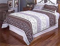 Двоспальний постільний комплект - Листочки нові