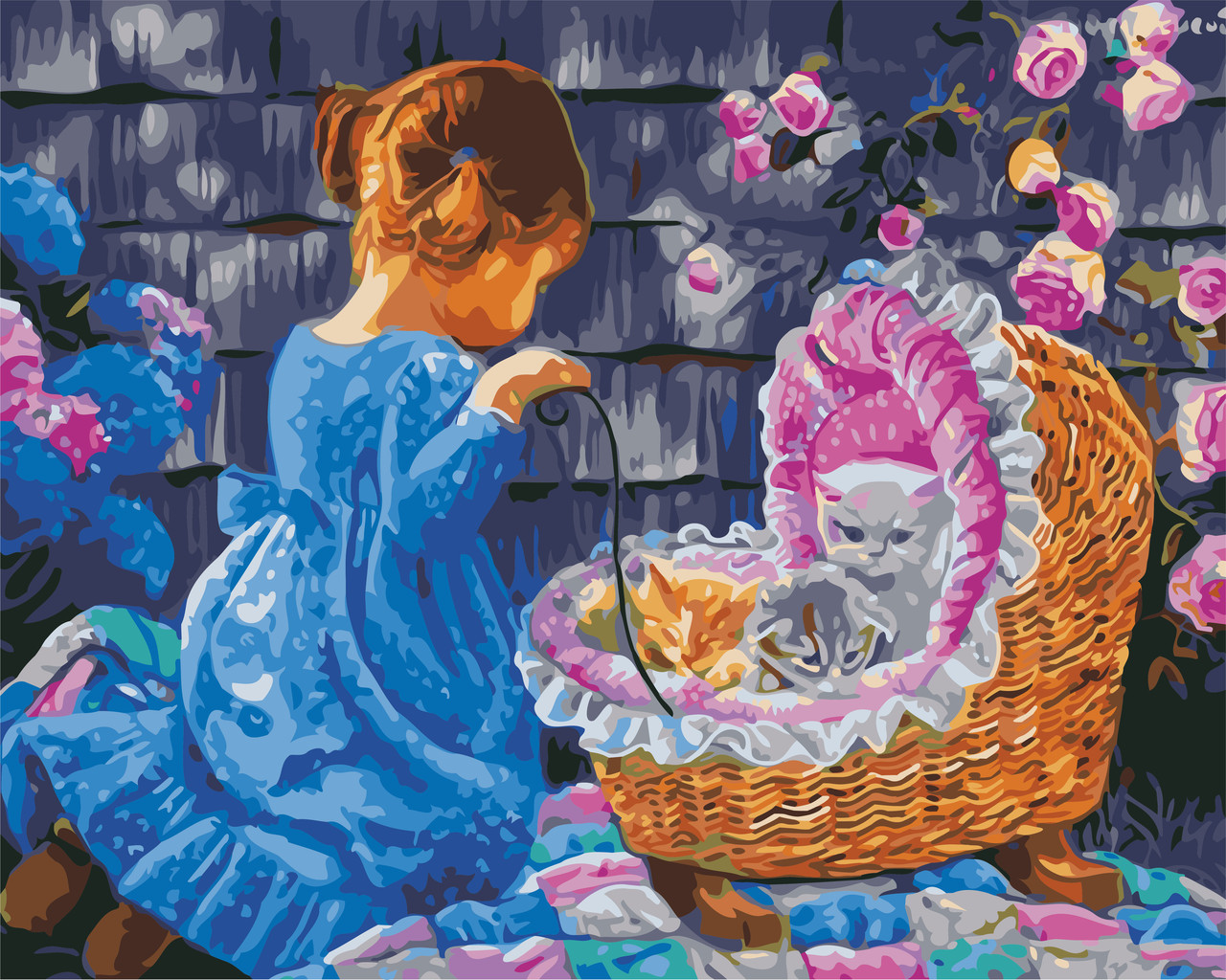 Картина по номерам Дочки-матери 40 х 50 см (AS0634)