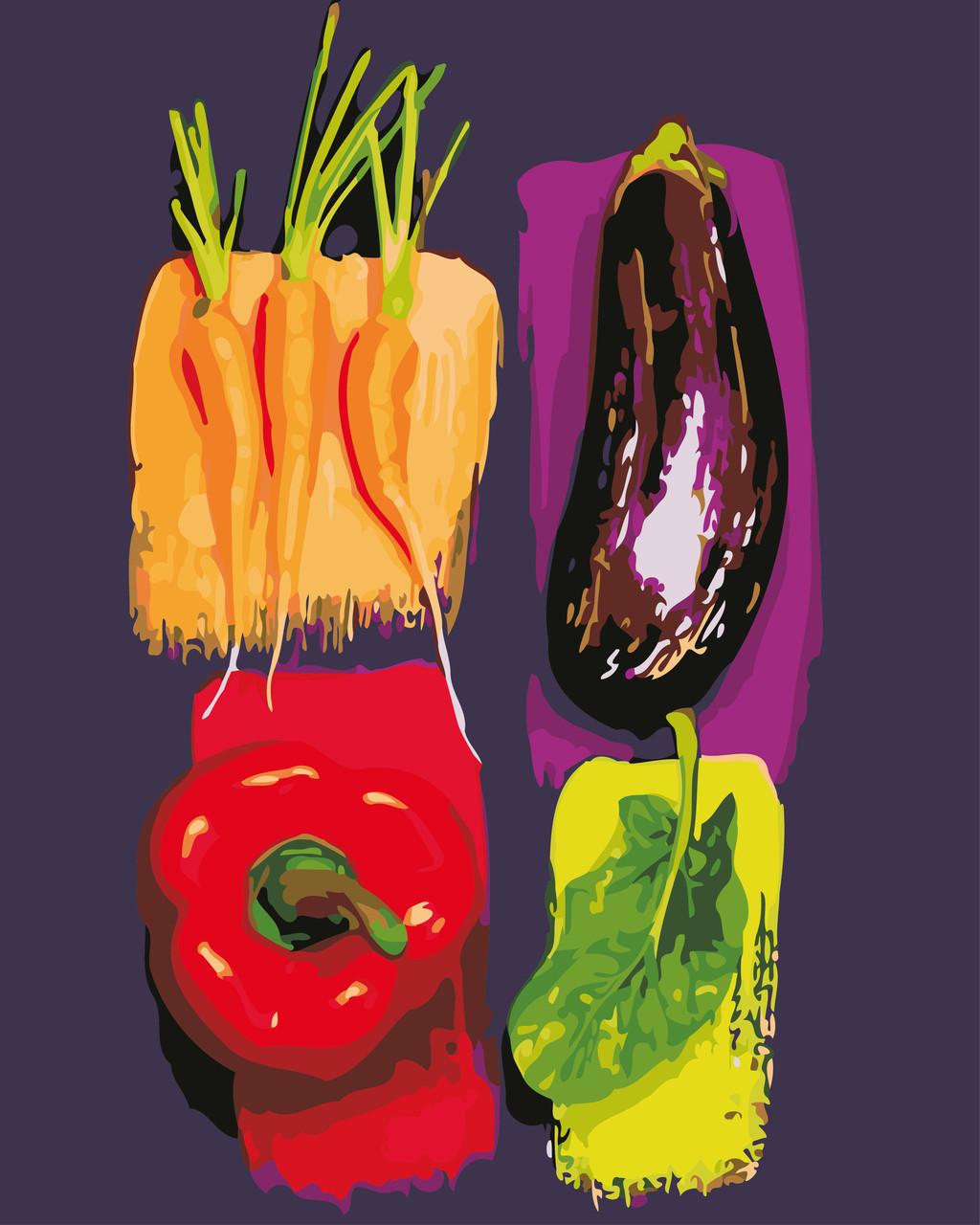 Картина по номерам Яркие овощи 40 х 50 см (AS0638)