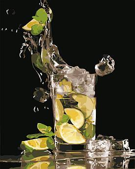 Картина по номерам Лимонад со льдом 40 х 50 см (AS0640)