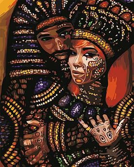 Картина по номерам Африканские мотивы 40 х 50 см (AS0654)