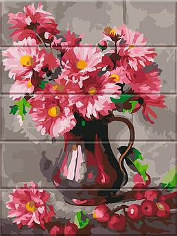 Картина по номерам Хризантемы 30 х 40 см (ASW045)