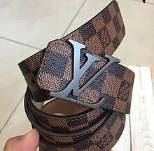 Пояс Louis Vuitton R400 коричневый