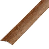 Ламинированный профиль.порог арт.П-9 (280) 30х5 мм орех лесной