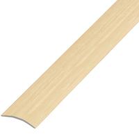 Ламинированный профиль,порог арт.П-9 (280) 30х5 мм дуб беленый