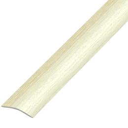 Ламинированный профиль,порог арт.П-9 (280) 30х5 мм ясень светлый
