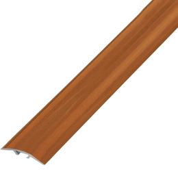 Окрашенный профиль,порог арт.О-390 39х5,4 мм вишня