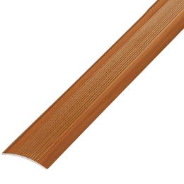 Окрашенный профиль,порог арт.О-500 50х3 мм вишня