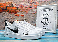 Мужские кроссовки Nike Air Force 1 Low TM White Найк Аир Форс 43р - 27 см, фото 1