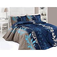 Двоспальний постільний комплект - Вітражі голубі