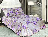 Постільна  тканина бязьGold - Казковий сон  фіолетовий