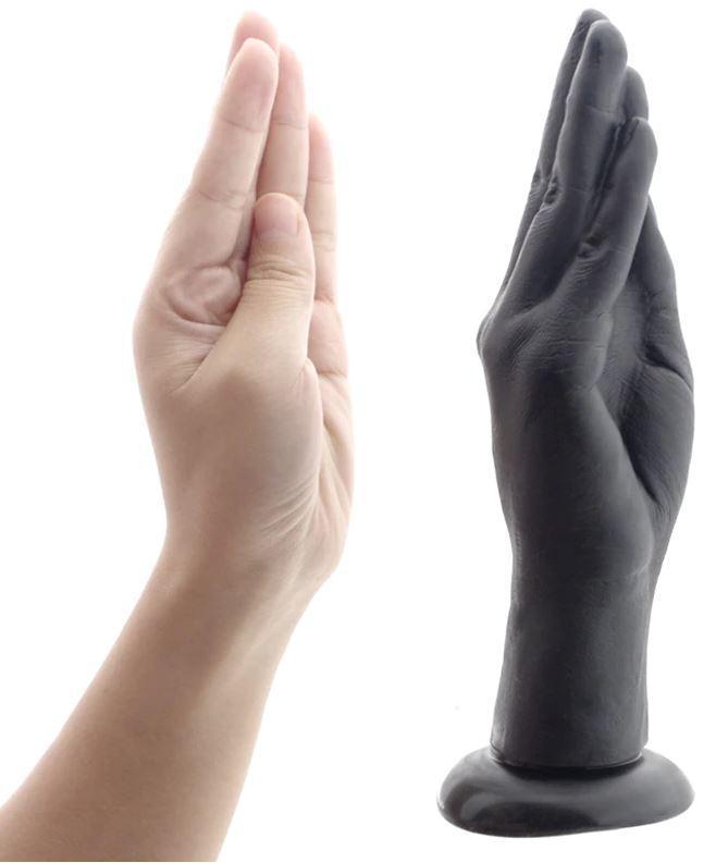 Рука для фистинга на присоске
