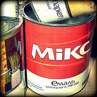 Красно коричневая краска алкидная  Пф 266 Микс 0.9 кг.