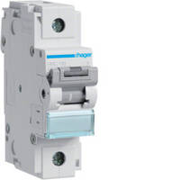 Автоматичний вимикач 125 А, 1п, С, 10 kA, Hager HLF399S