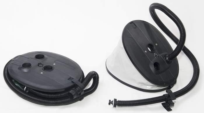 Насос пластиковый Borika с камерой высокого давления (6,3л+1,2л)