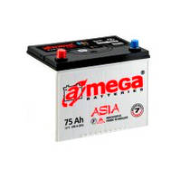 Аккумулятор A-Mega Asia (M7) 6СТ-75Ач 690А (0),(1)