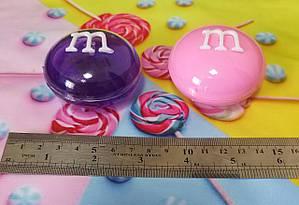 Слайм 860164/860165 M&M в капсуле 6,3см., лизун, жвачка для рук, slime, фото 2
