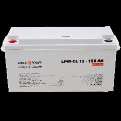 Акумулятор гелевий LogicPower LPM-GL 12 - 150 AH