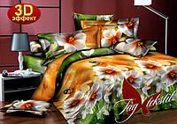 Комплект постельного белья Семейный ТМ TAG Бабочки