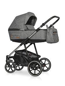 Детская универсальная коляска 2 в 1 Riko Swift Premium 12 Titanium