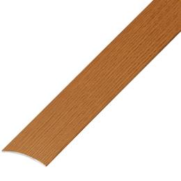 Окрашенный матовый профиль ,порог арт.ОМ-100 28х5,4 мм дуб золотой