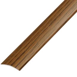Окрашенный матовый профиль,порог арт.ОМ-100 28х5,4 мм орех, фото 2