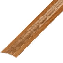 Окрашенный матовый профиль,порог арт.ОМ-400 40х3 мм дуб золотой, фото 2