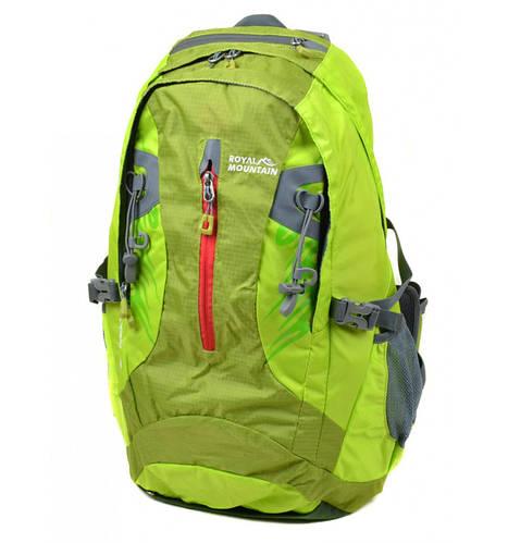 Оригинальный туристический рюкзак 38 л. Royal Mountain 4097 green зеленый