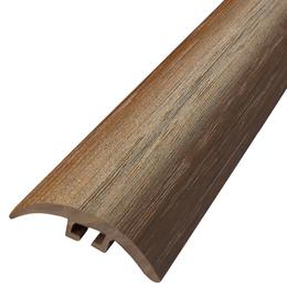 Пластиковый профиль арт.ППл-2 30х4,5 мм орех лесной