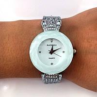 Часы женские BAOSAILI - белый циферблат, цвет корпуса стальной