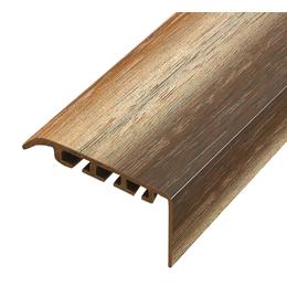 Пластиковый профиль арт.ППл-6 45х22 мм орех лесной, фото 2