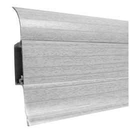 Плинтус напольный Ideal 55mm (ясень серый 253), фото 2