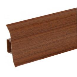 Плинтус напольный Ideal 55mm (орех темный 293), фото 2