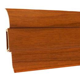 Плинтус напольный Ideal 55mm (каштан 351), фото 2
