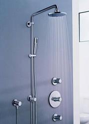 Душові системи, душові стійки, душові лійки, шланги, тримачі для душу