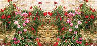 Фото - Забор с картинкой для садовой архитектуры и ландшафтного дизайна.