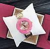 Часы женские BAOSAILI - розовый циферблат, цвет корпуса gold