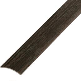 Ламинированный профиль,порог арт.П-4 (202) 20х3 мм венге, фото 2