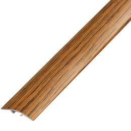 Ламинированный профиль,порог арт.П-5 (100) 28х5,4 мм орех